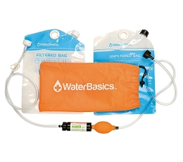 WATERBASICS BAG-TO-BAG WATER FILTRATION KIT